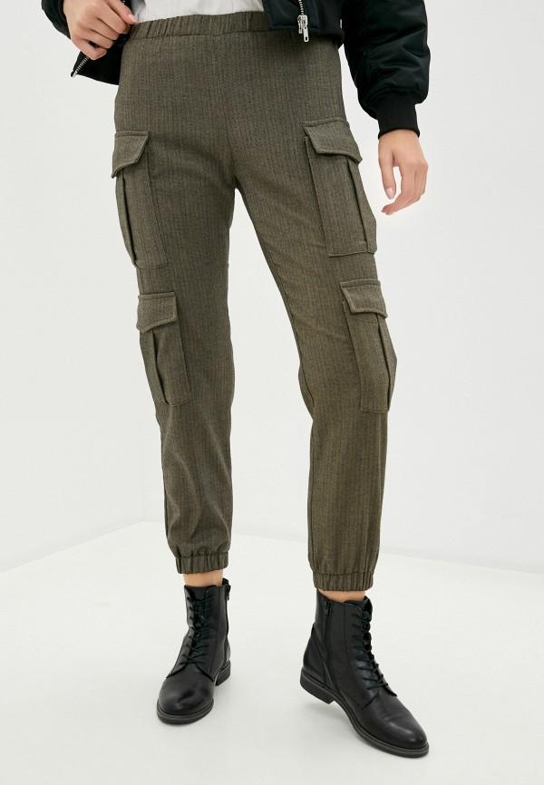 женские брюки imperial, хаки