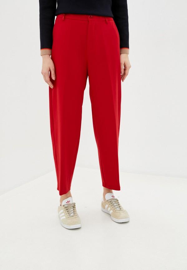 женские повседневные брюки imperial, красные