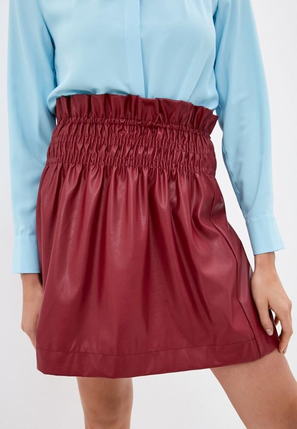 женская юбка imperial, бордовая
