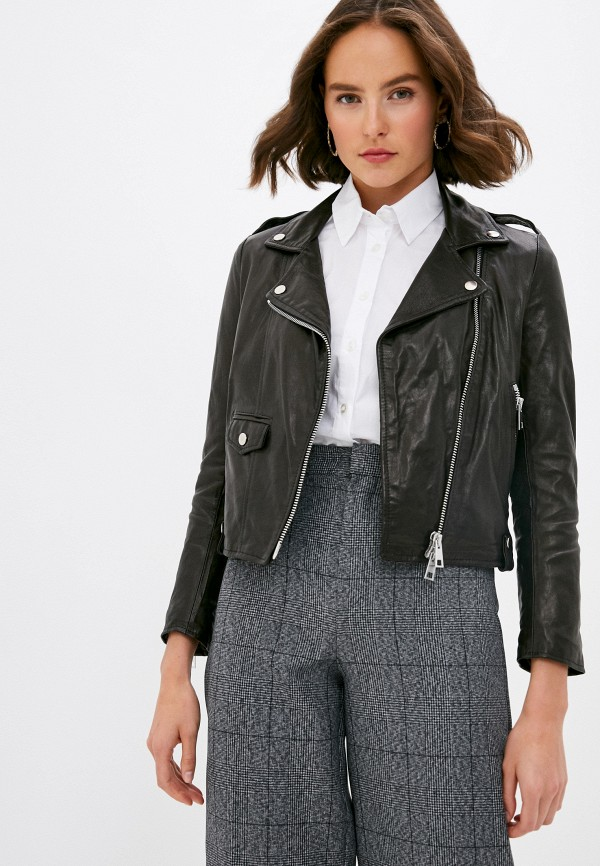 женская куртка imperial, черная