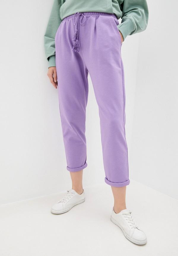 женские брюки imperial, фиолетовые