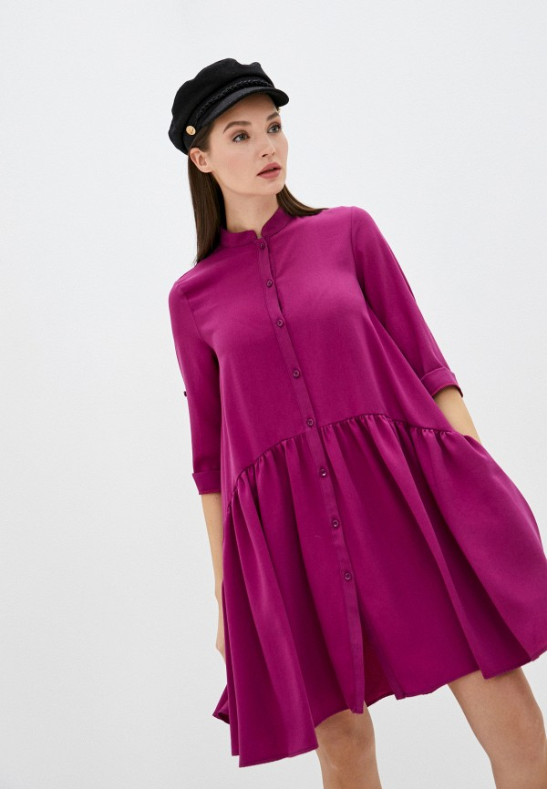 женское платье imperial, фиолетовое