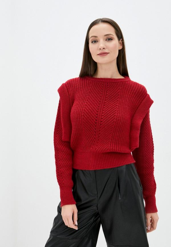 женский джемпер imperial, красный
