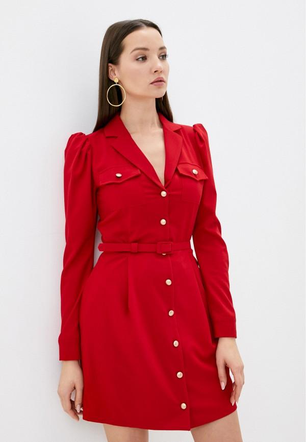 женское платье imperial, красное
