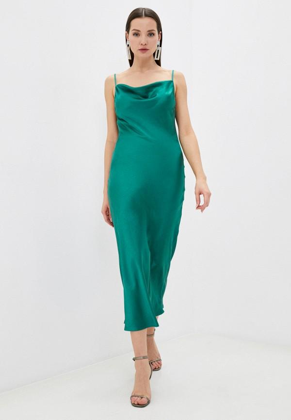 женское платье imperial, зеленое