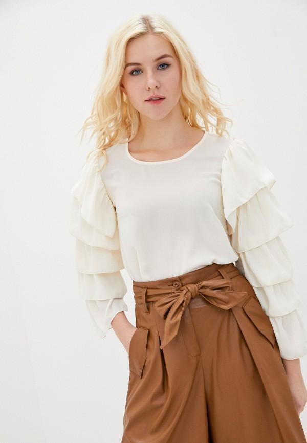 женская блузка imperial, бежевая