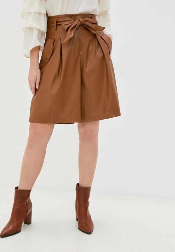 женские повседневные шорты imperial, коричневые