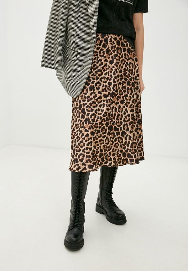 женская юбка imperial, коричневая