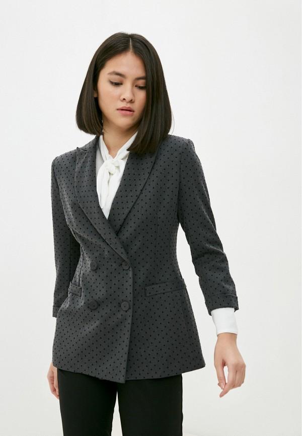 женский жакет imperial, серый