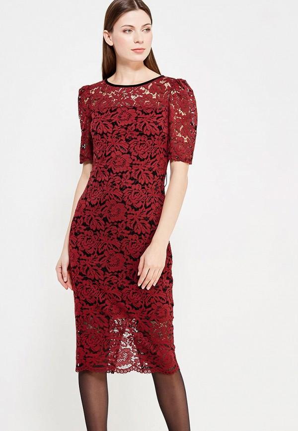 Купить Платье Imperial, IM004EWZAC38, бордовый, Осень-зима 2017/2018
