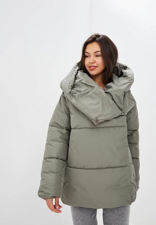 Купить Куртка утепленная Imocean, im007ewcxfk4, хаки, Осень-зима 2018/2019
