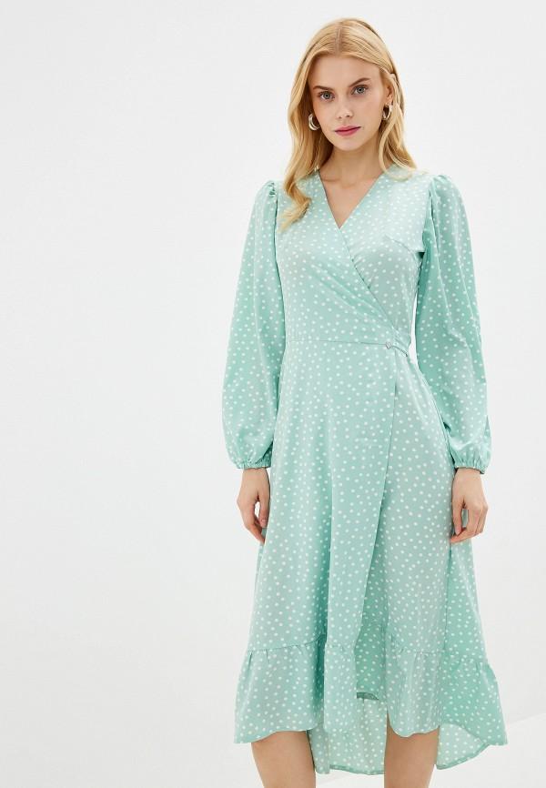 Купить женское платье Imocean зеленого цвета