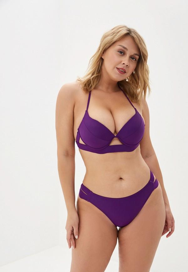 женский купальник imocean, фиолетовый