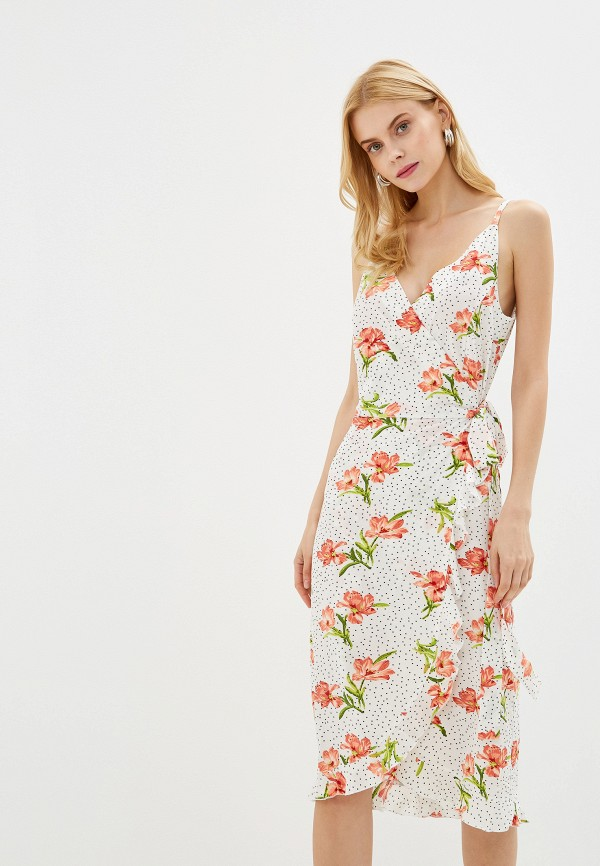Фото - женское платье Imocean белого цвета