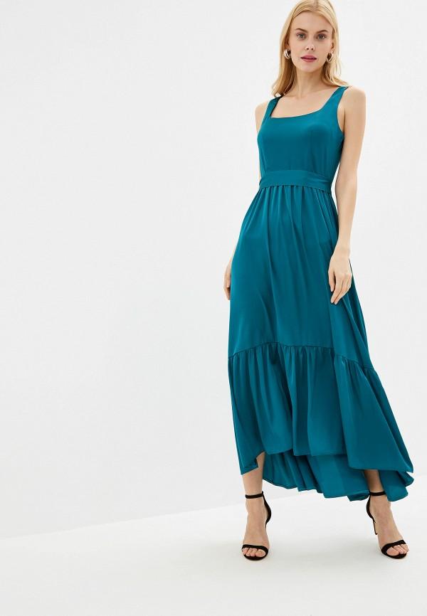 Купить женское вечернее платье Imocean зеленого цвета