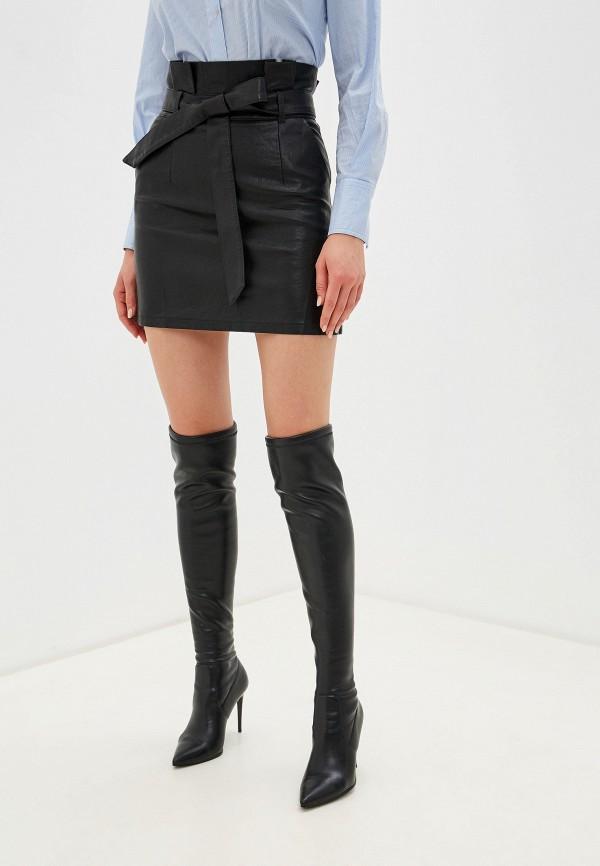 женская юбка imocean, черная