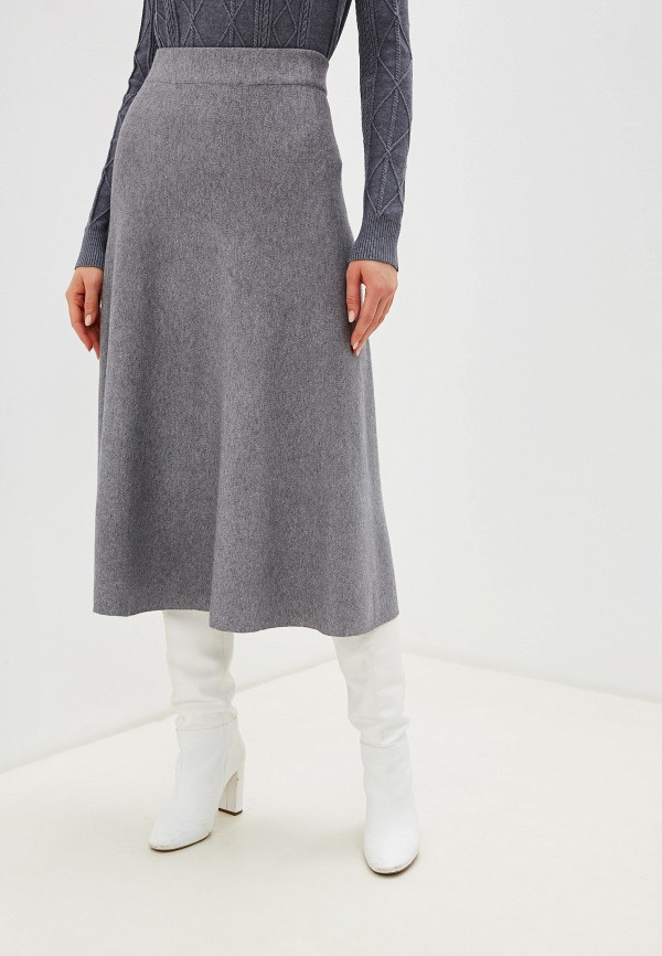 женская юбка imocean, серая