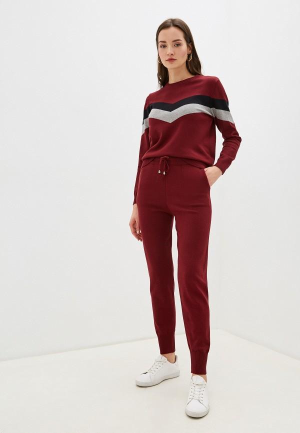 женский костюм imocean, бордовый