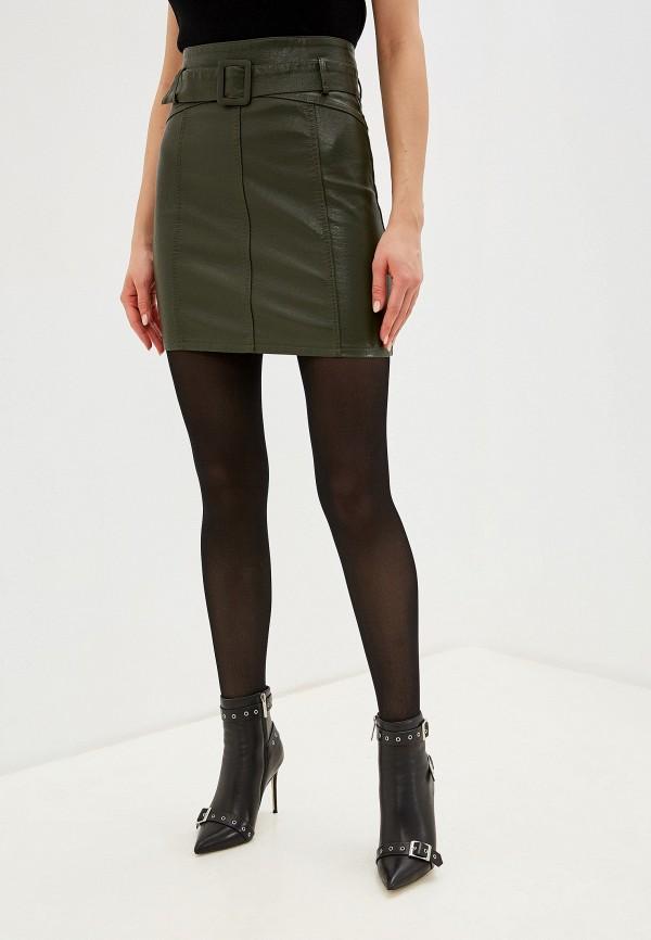 женская юбка imocean, зеленая