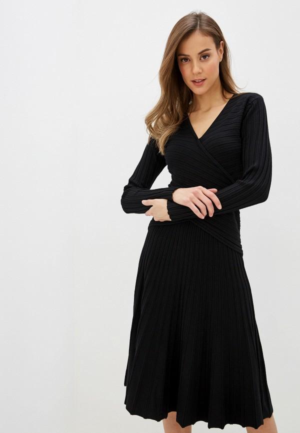 женский вязаные костюм imocean, черный