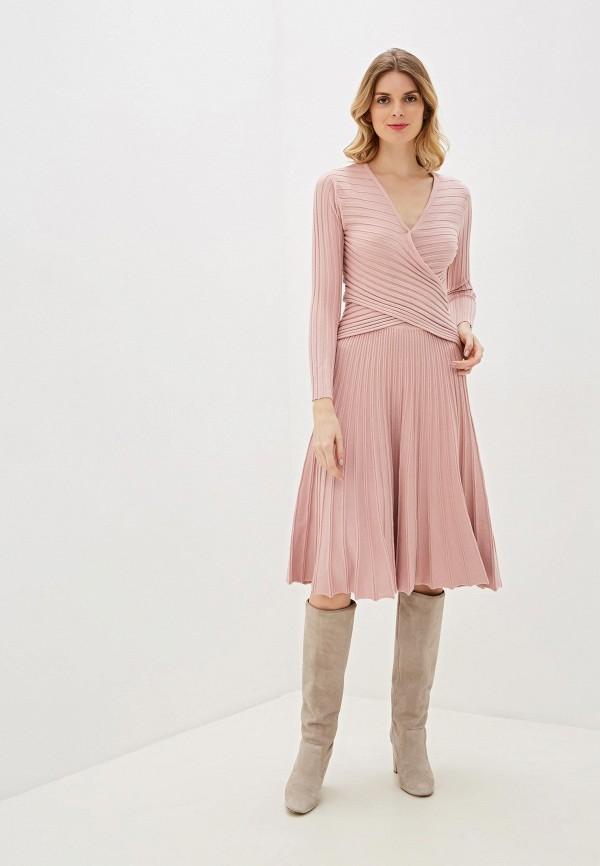 женский вязаные костюм imocean, розовый