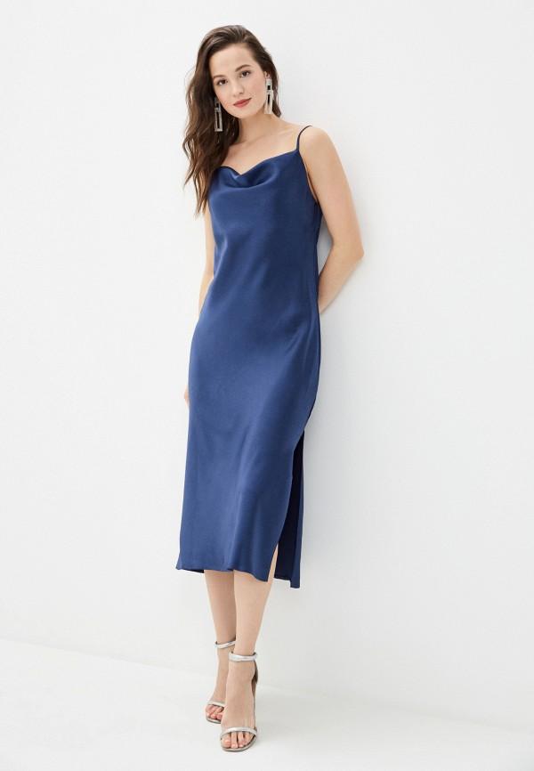 женское платье imocean, синее
