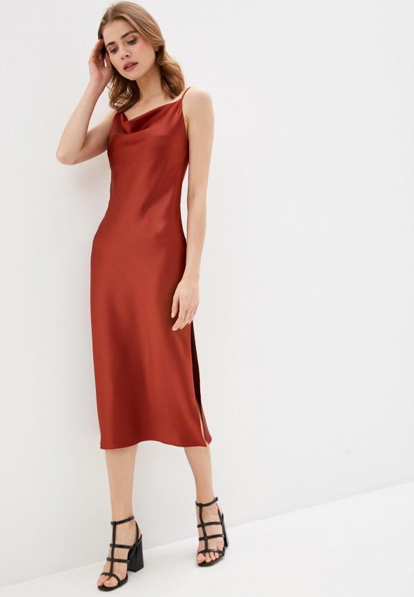 женское платье imocean, оранжевое