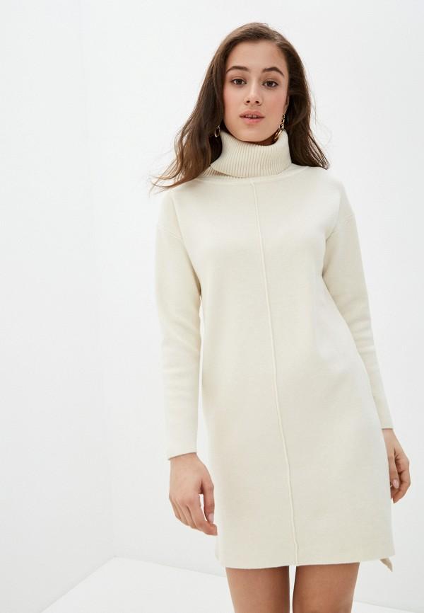 женское платье imocean, бежевое