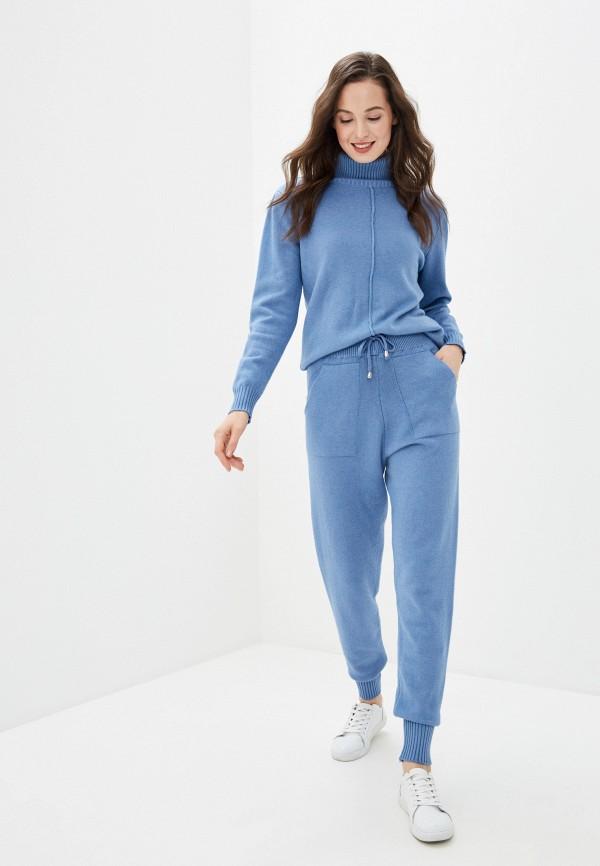 женский вязаные костюм imocean, голубой