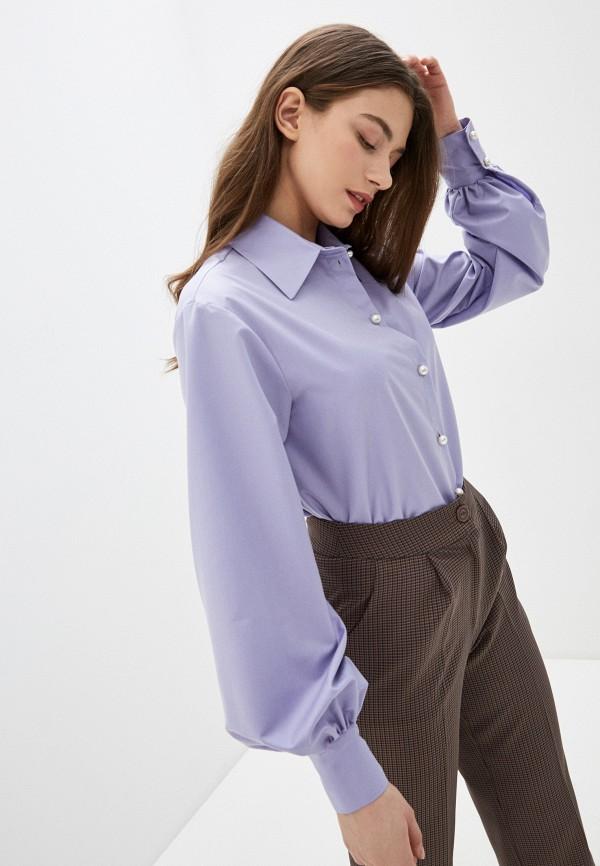женская блузка imocean, фиолетовая
