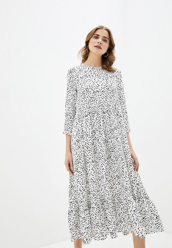 женское повседневные платье imocean, белое