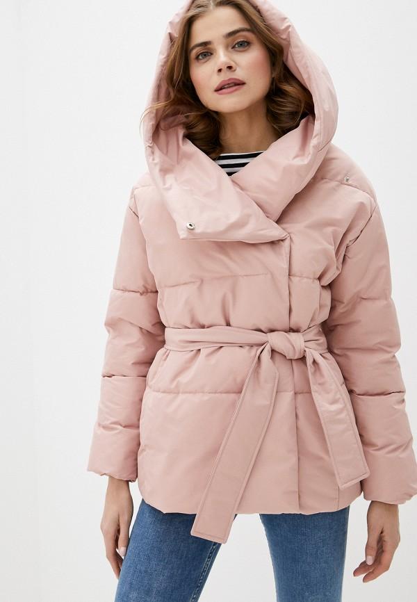 женская куртка imocean, розовая
