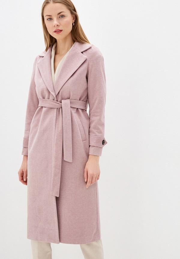 женское пальто imocean, розовое