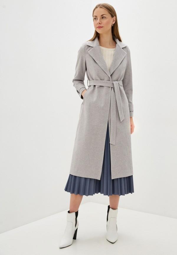 женское пальто imocean, серое