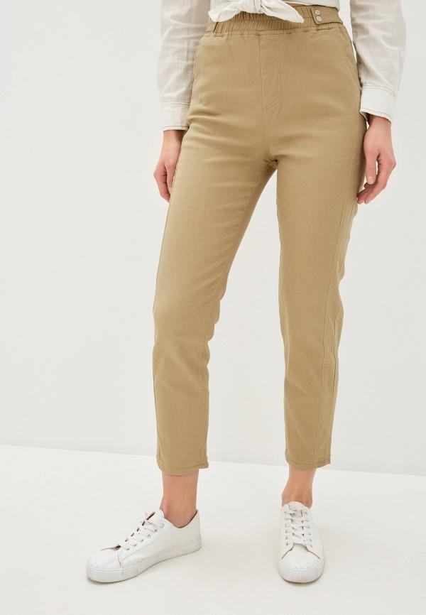 женские повседневные брюки imocean, бежевые