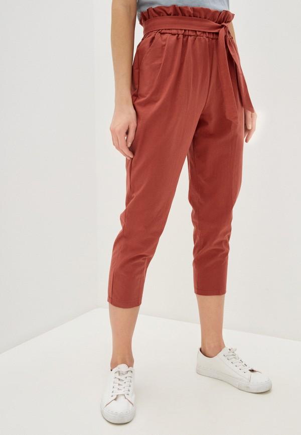 женские повседневные брюки imocean, коричневые