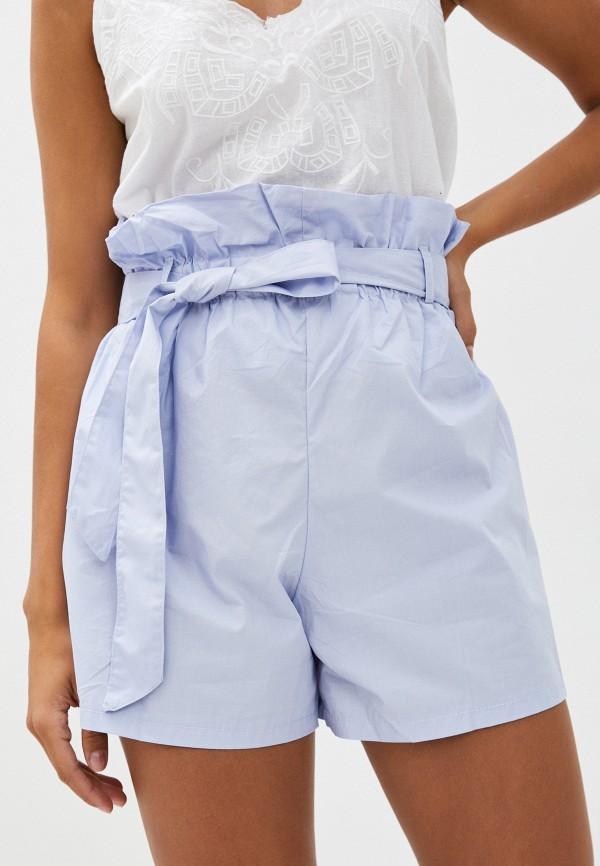 женские повседневные шорты imocean, голубые