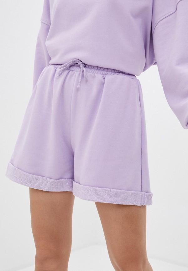 женские шорты imocean, фиолетовые