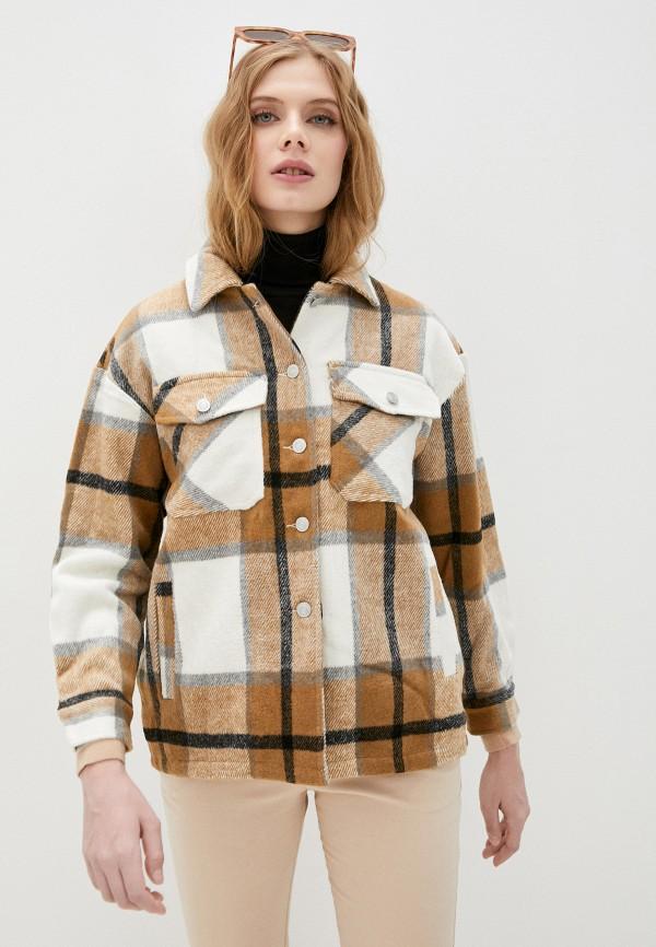 женское пальто imocean, разноцветное