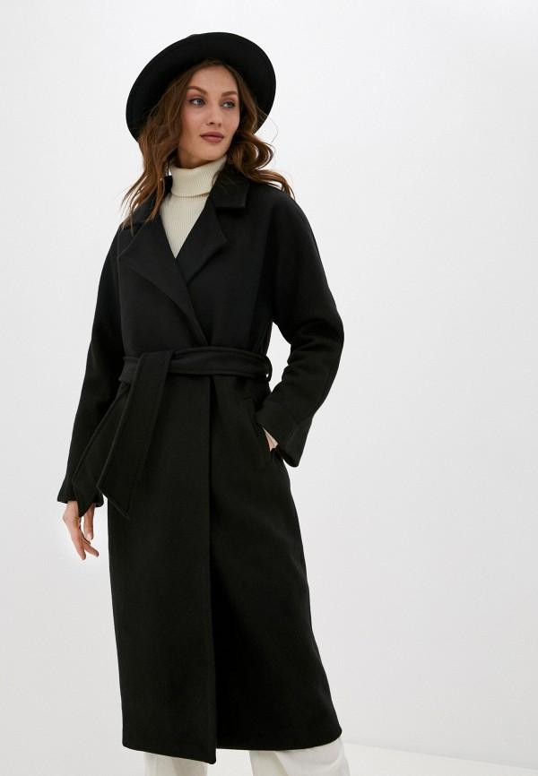 женское пальто imocean, черное