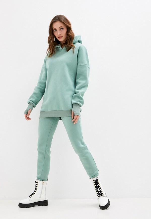 женский спортивный костюм imocean, зеленый