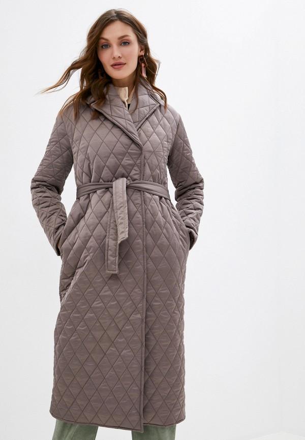 женская куртка imocean, коричневая