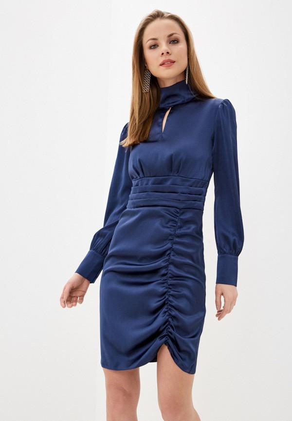 женское вечерние платье imocean, синее
