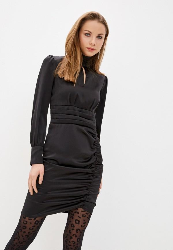 женское вечерние платье imocean, черное