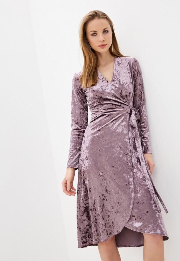 женское платье imocean, фиолетовое
