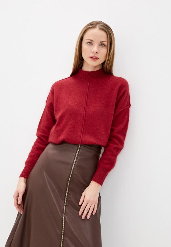 женский свитер imocean, бордовый