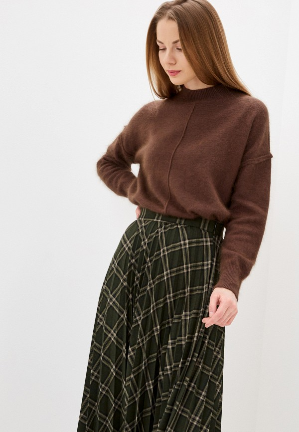 женский свитер imocean, коричневый