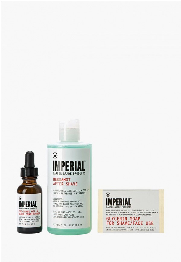 Набор для бритья Imperial Barber Grade Products Imperial Barber Grade Products IM012LMZSC15 up grade желания