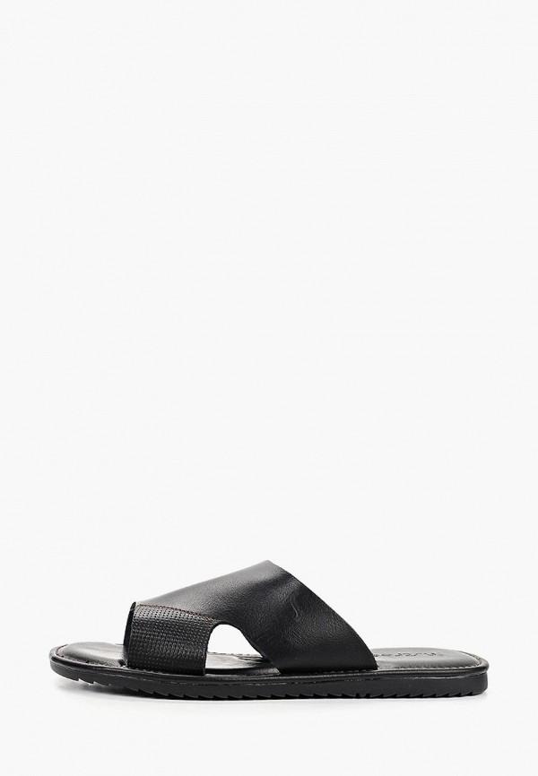 мужские сандалии instreet, черные