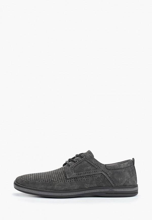 мужские туфли instreet, серые